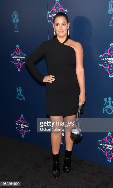 Angelique Cabral attends the 20th Century Fox 2018 LA Screenings Gala at Fox Studio Lot on May 24 2018 in Century City California