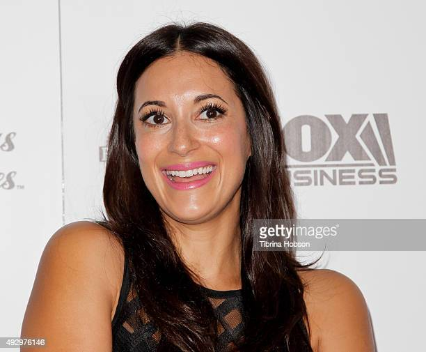 Angelique Cabral attends the premiere of 'All Things Must Pass' at Harmony Gold Theatre on October 15 2015 in Los Angeles California