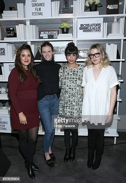 Angelique Cabral Brooklyn Decker Hannah Simone and Majandra Delfino attend  the 2017 Sundance Film Festival premiere.   adc5c879dc6f
