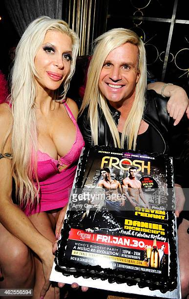 Angelique 'Frenchy' Morgan and Daniel DiCriscio attend Daniel DiCriscio's 7th Annual Fresh and Fabulous Birthday Party at Greystone Manor on January...