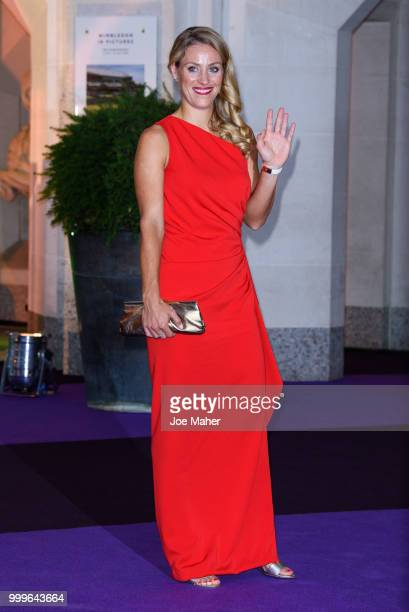Angelique Kerber attends the Wimbledon Champions Dinner at The Guildhall on July 15 2018 in London England