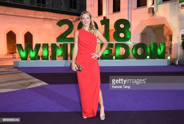Angelique Kerber attends the Wimbledon Champions Dinner at The Guildhall on July 15, 2018 in London, England.