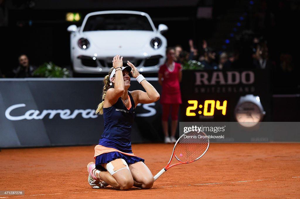 Porsche Tennis Grand Prix - Day 7 : News Photo