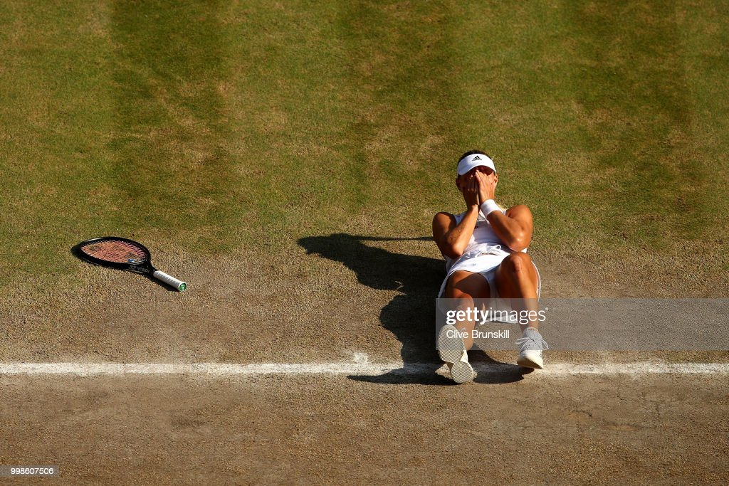 Kerber beats Serena in Ladies' Singles Final at Wimbledon