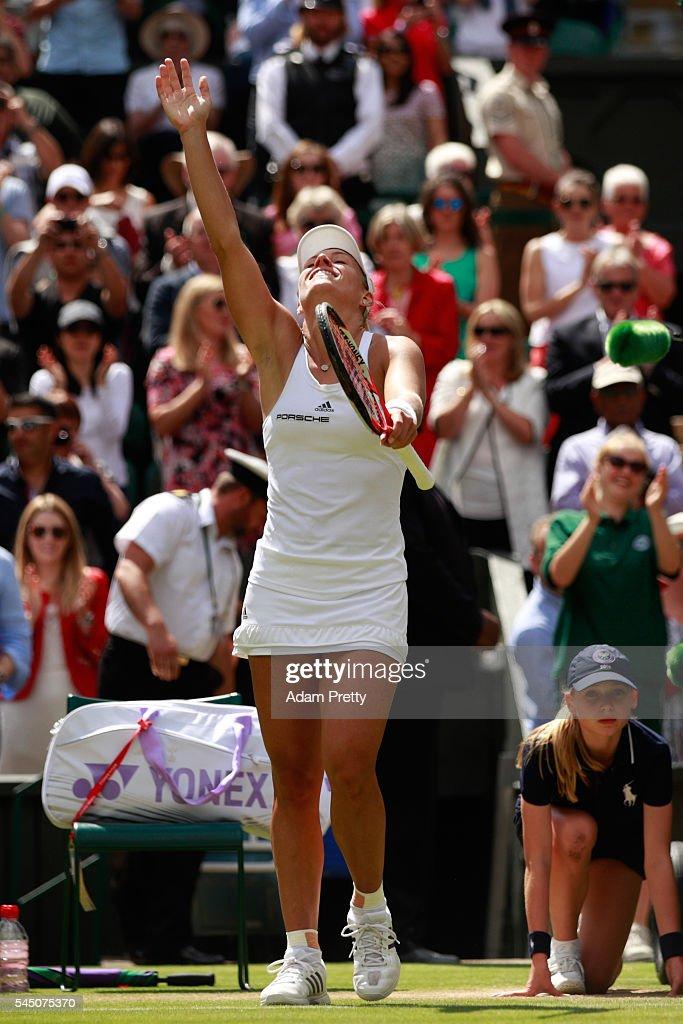 Day Eight: The Championships - Wimbledon 2016 : News Photo