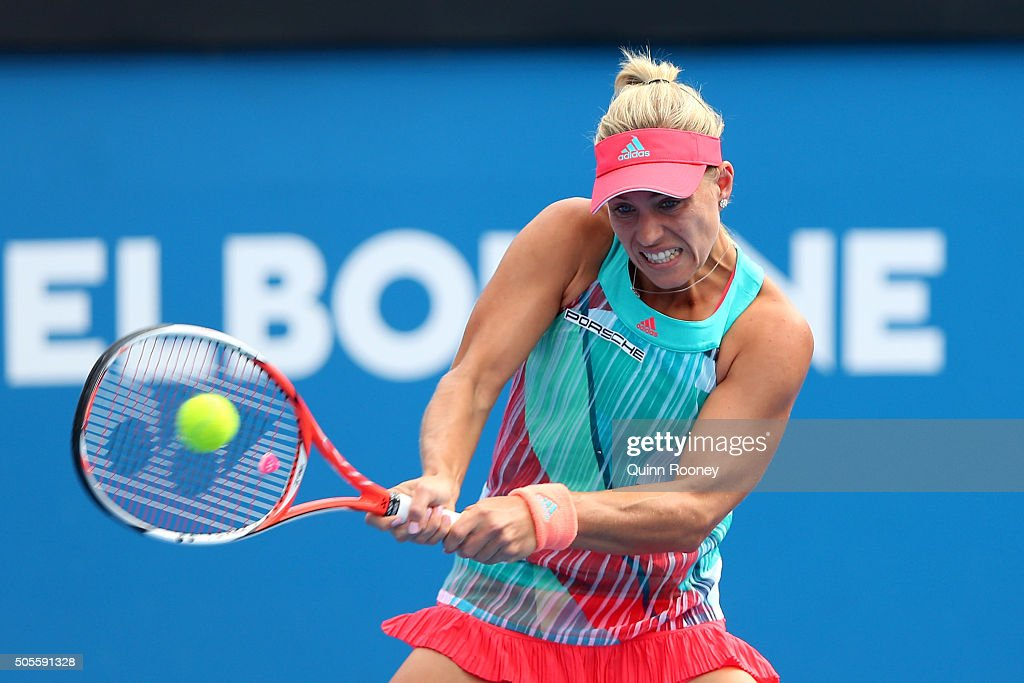 2016 Australian Open - Day 2 : News Photo