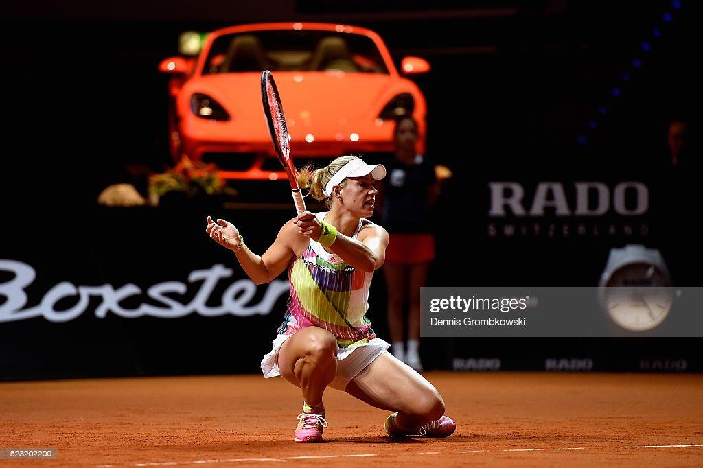 Porsche Tennis Grand Prix - Day 5 : News Photo