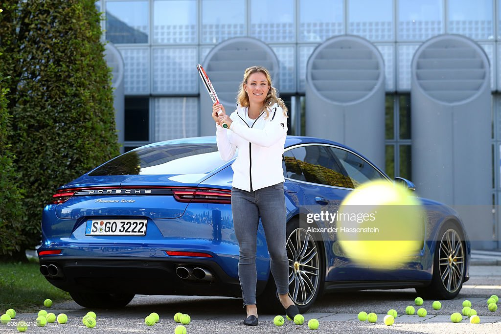 Angelique Kerber Returns From The US Open