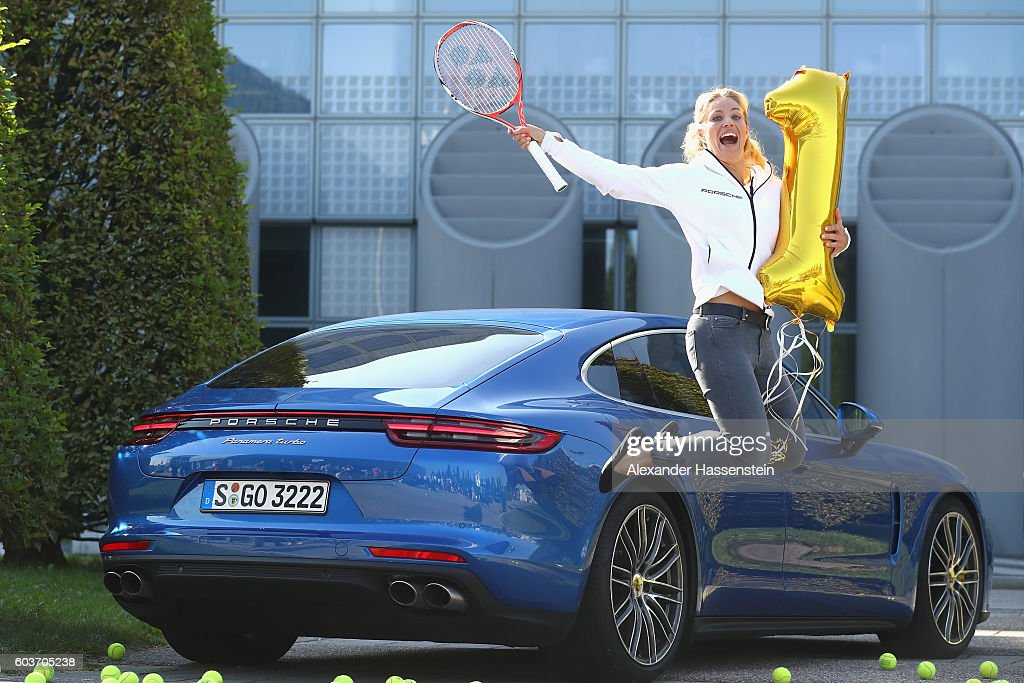 Angelique Kerber Returns From The US Open : News Photo