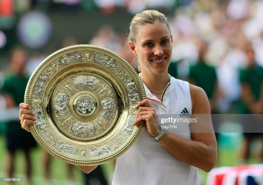 Day Twelve: The Championships - Wimbledon 2018 : Photo d'actualité