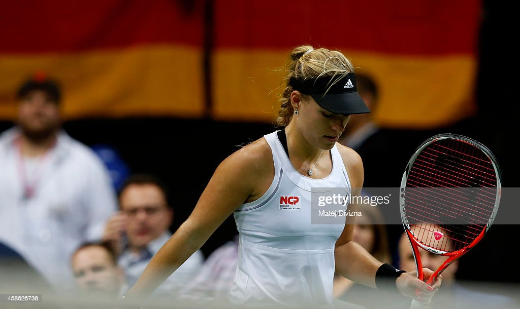 Czech Republic v Germany - Fed Cup Final Day 1 : News Photo