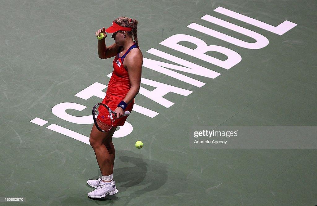 WTA Championships Istanbul : News Photo