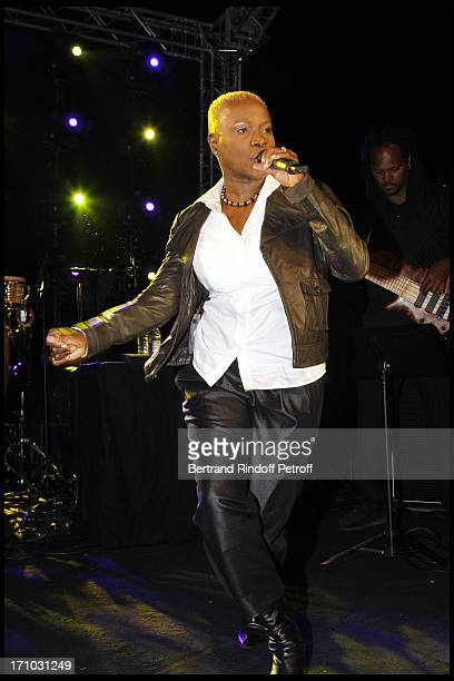 Angelique Kidjo at Every Journey Began In Africa Party For The Exhibition Africa Rising And The Discovery Of The Collaboration Between Edun And Louis...
