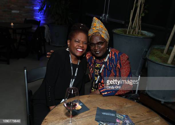 Angelique Kidjo attends 61st GRAMMY Nominee Celebration at SECOND on January 28 2019 in New York City