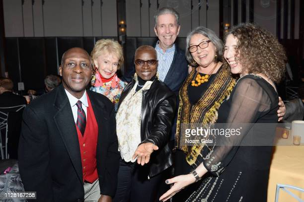 Angelique Kidjo attends the 32nd Annual Tibet House US Benefit Concert Gala after party at The Ziegfeld Ballroom on February 07 2019 in New York City