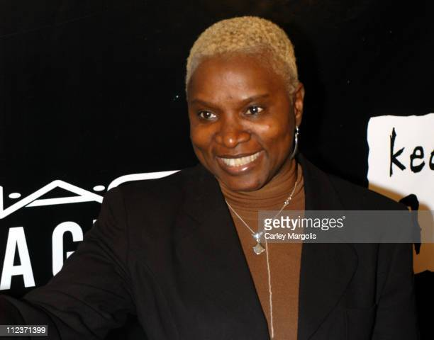 Angelique Kidjo during Alicia Keys Presents The Pusher's Ball to Benefit Keep a Child Alive Arrivals at Angel Orensanz in New York City New York...