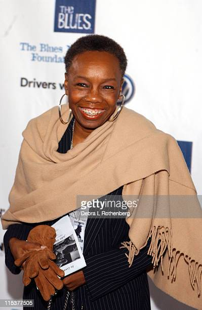 Angelique Kidjo during Arrivals for The Salute To The Blues Concert at Radio City Music Hall in New York NY United States