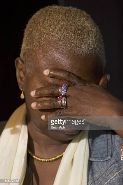 Angelique Kidjo during Control Arms Live Concert and Press Conference June 28 2006 at Supper Club in New York City New York United States