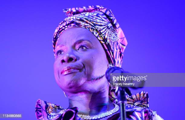Angelique Kidjo performs during 2019 WOMADelaide on March 09 2019 in Adelaide Australia