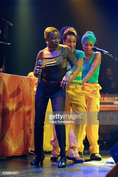 Angelique Kidjo vocal performs at the Melkweg on November 29th 1998 in Amsterdam Netherlands