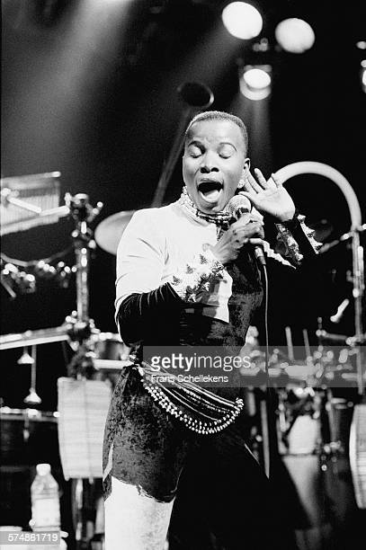 Angelique Kidjo vocal performs on February 27th 1994 at the Melkweg in Amsterdam the Netherlands