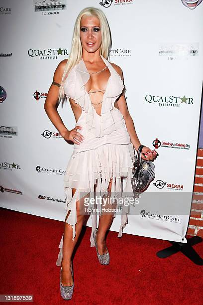 Angelique Morgan arrives to the DrinkingAndDrivingorg's 1st Annual Celebrity Charity Tabloid Roast at The Ha Ha Comedy Club on May 31 2011 in North...