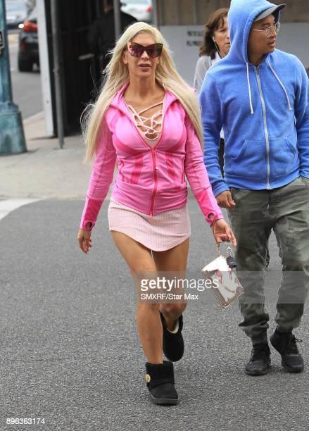 Angelique Morgan is seen on December 20 2017 in Los Angeles CA