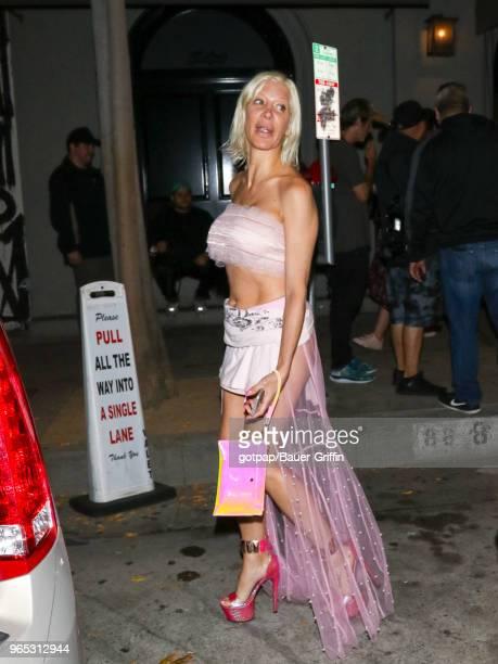 Angelique Morgan is seen on May 31 2018 in Los Angeles California