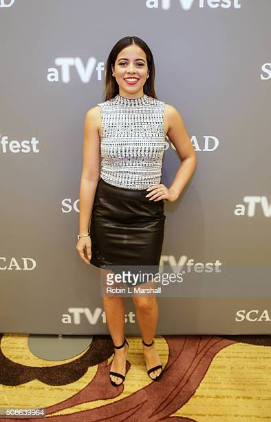 Angelique Rivera attends 4th Annual aTVfest on February 5 2016 in Atlanta Georgia