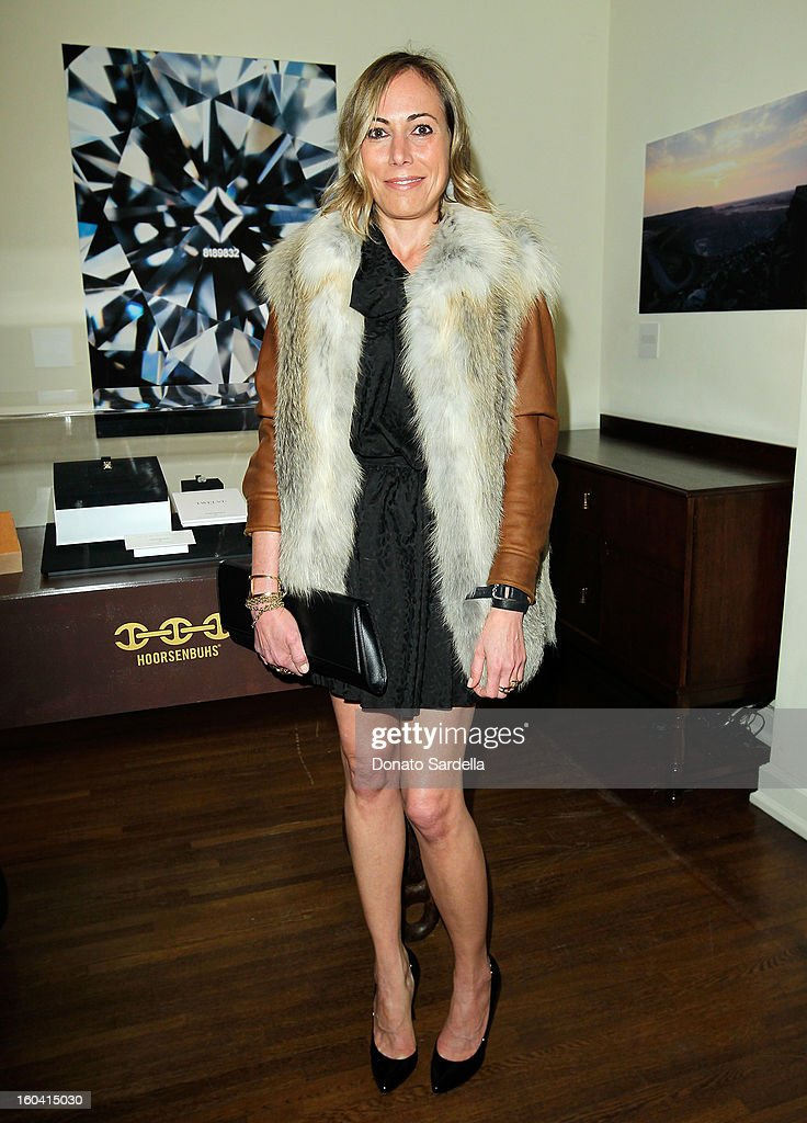 Angelique Soave attends Hoorsenbuhs for Forevermark Collection cocktail party at Chateau Marmont on January 30, 2013 in Los Angeles, California.