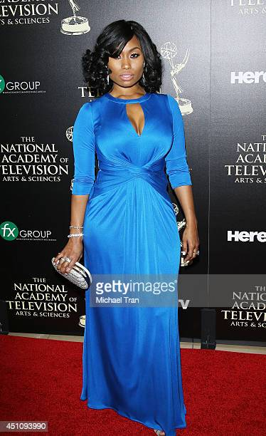 Angell Conwell arrives at the 41st Annual Daytime Emmy Awards held at The Beverly Hilton Hotel on June 22 2014 in Beverly Hills California