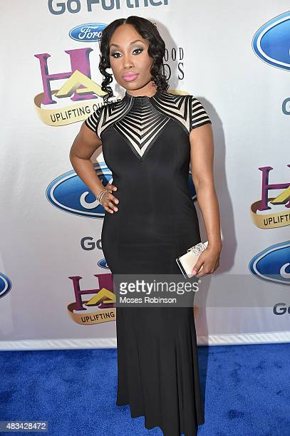 Angell Conwell attends the 2015 Ford Neighborhood Awards Hosted By Steve Harvey at Phillips Arena on August 8 2015 in Atlanta Georgia