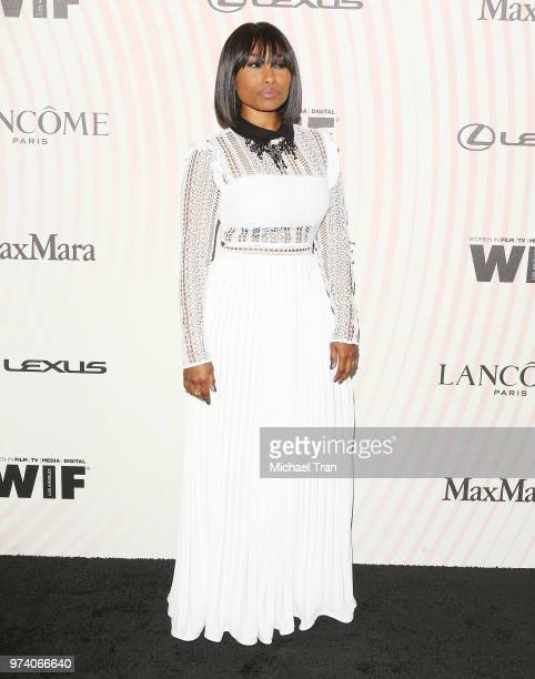 Angell Conwell attends the Women In Film 2018 Crystal Lucy Awards held at The Beverly Hilton Hotel on June 13 2018 in Beverly Hills California