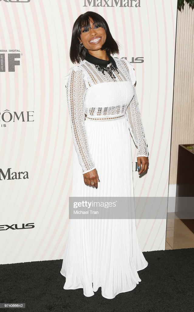 Angell Conwell attends the Women In Film 2018 Crystal + Lucy Awards held at The Beverly Hilton Hotel on June 13, 2018 in Beverly Hills, California.