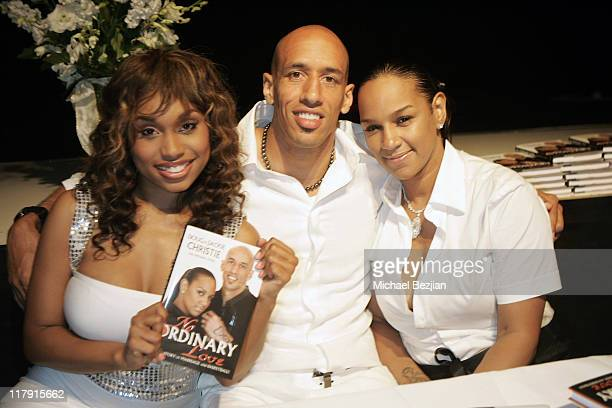 Angell Conwell Doug Christie and Jackie Christie during Doug and Jackie Christie's New Book 'No Ordinary Love A True Story of Marriage and...
