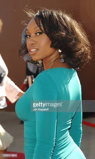 Angell Conwell during 10th Annual Soul Train Lady of Soul Awards Arrivals at Pasadena Civic Auditorium in Pasadena California United States