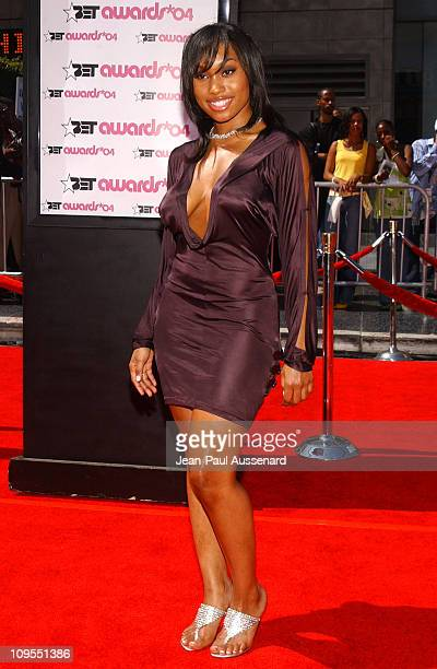 Angell Conwell during 4th Annual BET Awards Arrivals at Kodak Theatre in Hollywood California United States