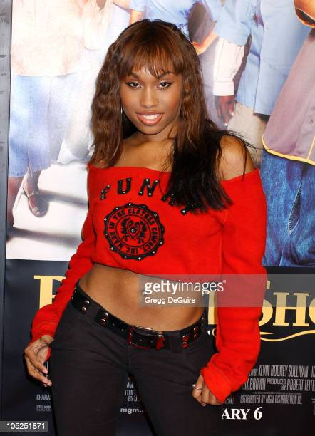 Angell Conwell during 'Barbershop 2 Back in Business' Premiere at Grauman's Chinese Theatre in Hollywood California United States