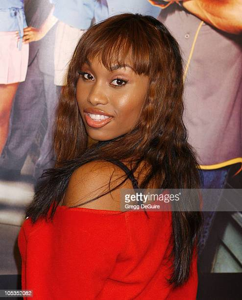 Angell Conwell during Barbershop 2 Back in Business Premiere at Grauman's Chinese Theatre in Hollywood California United States