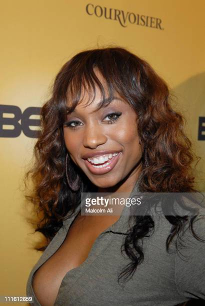 Angell Conwell during BET Fall Launch Party at Camden House in Beverly Hills CA United States