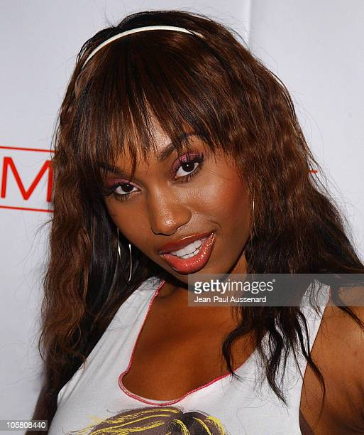 Angell Conwell during Grand Opening of GQ Lounge at Forbidden City Los Angeles Arrivals at Forbidden City in Hollywood California United States