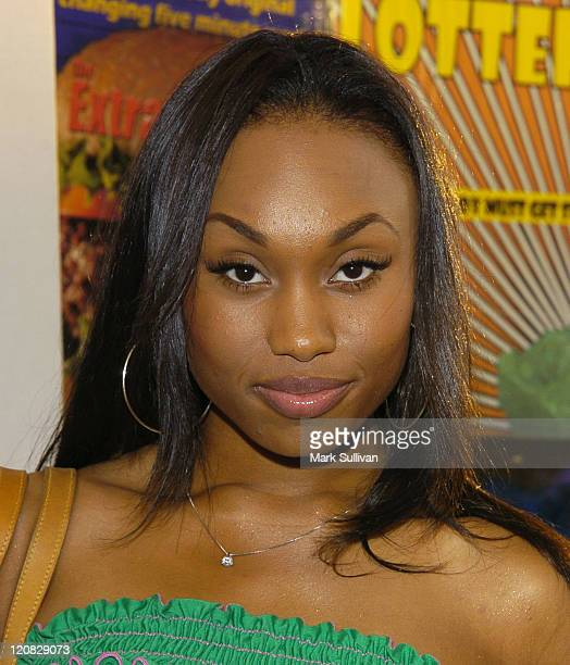Angell Conwell during Lucky Magazine Host Party for Hollywould Shoes at Star Shoes Arrivals at Star Shoes in Hollywood California United States