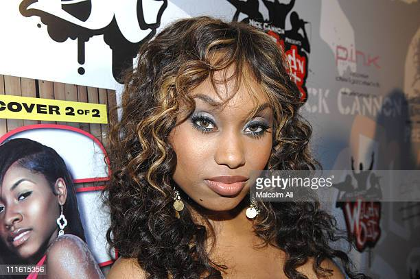 Angell Conwell during MTV's Wild n Out Season 4 Premiere Hosted by Nick Cannon and King Magazine at Social in Hollywood California United States