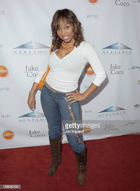 Angell Conwell during Palm Ed Hardy Present Recording Artist 'Jake Coco' Arrivals at Key Club in West Hollywood California United States
