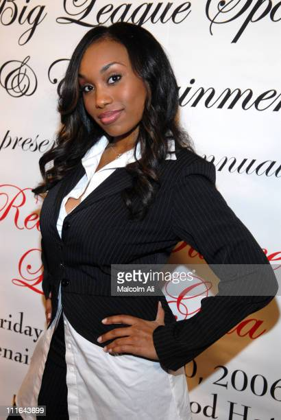 Angell Conwell during Read To Succeed Literacy Gala at Renaissance Hollywood Hotel in Hollywood California United States