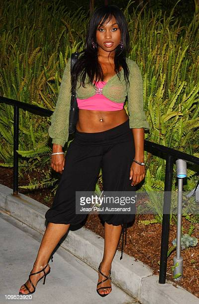 Angell Conwell during Russell Simmons 'Work HardPlay Harder' Lounge Sponsored by Courvoisier and W Hotel Arrivals at Poolside at W Hotel in Westwood...