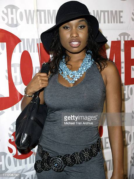 Angell Conwell during Showtime Presents 'Weeds' and 'Barbershop' Los Angeles Premiere at Paramount Theater At Paramount Studios in Hollywood...