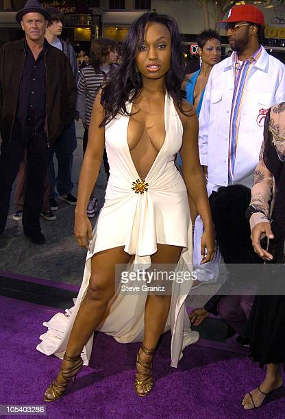 Angell Conwell during Soul Plane Los Angeles Premiere at Mann Village Theatre in Westwood California United States