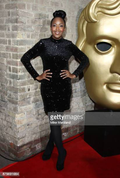 Angellica Ball attends the BAFTA Children's awards at The Roundhouse on November 26 2017 in London England