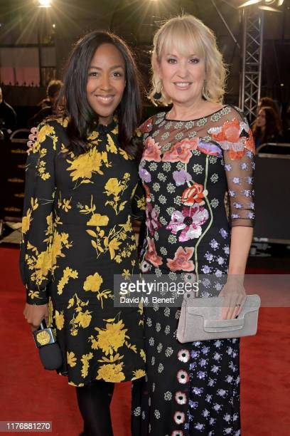 Angellica Bell and Nicki Chapman attend the 20th anniversary gala performance of The Lion King at The Lyceum Theatre on October 19 2019 in London...